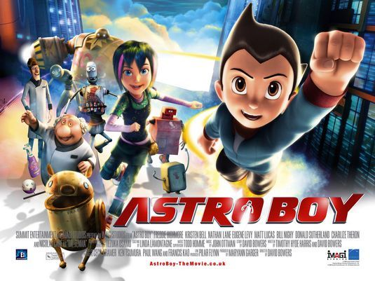 Astro Boy  http://www.youtube.com/watch?v=1AhqOHom9BY