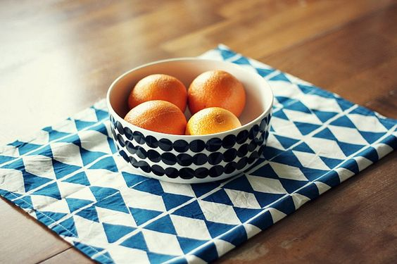 Guest post by Kerry of The Seventy Tree by AMM blog, via Flickr / love this dish and placemat