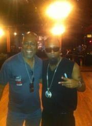 Me and the rapper Techn9ne. Oh yea!