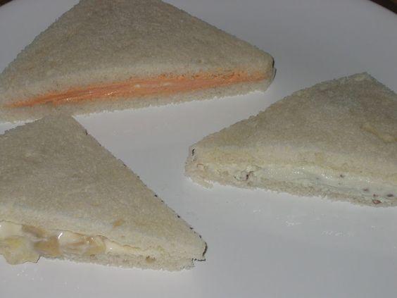 Rellenos para sandwiches de miga. - Taringa!