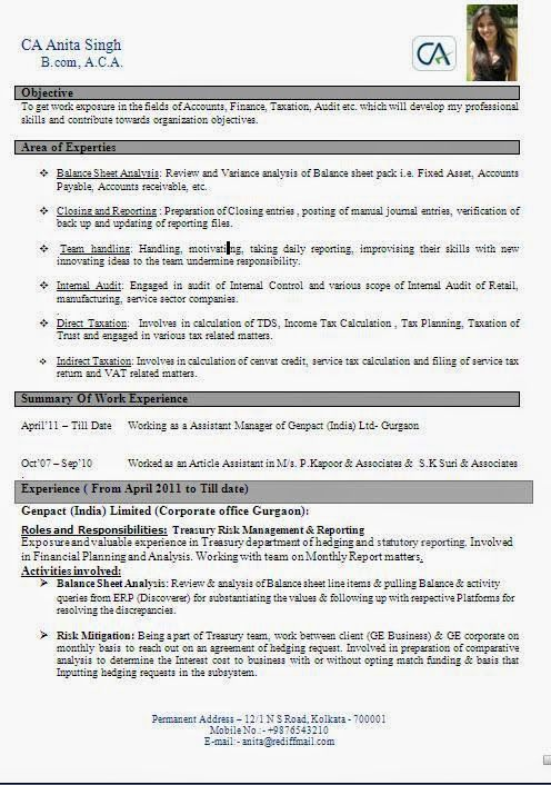 cv layout tips Sample Template Example ofExcellent Curriculum - format for monthly report