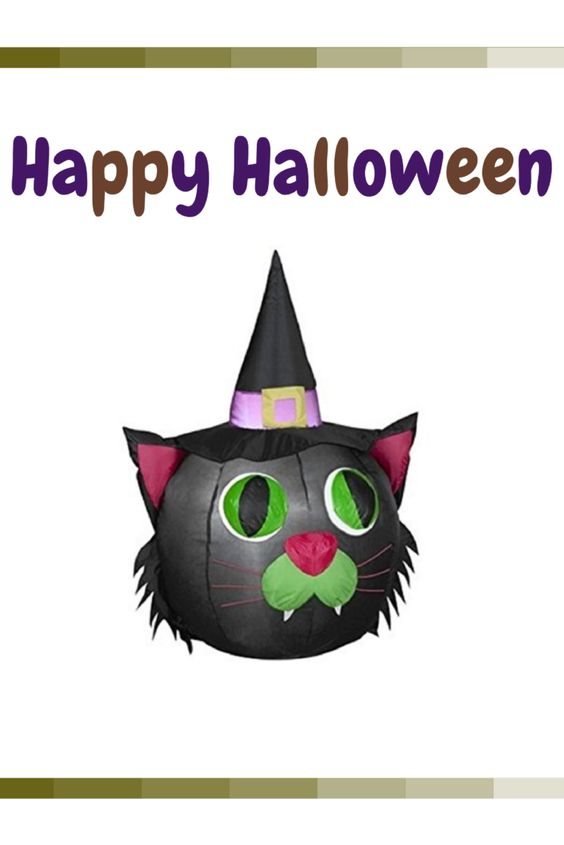 Black Cat Halloween Home Decor is an awesome and fun way to decorate