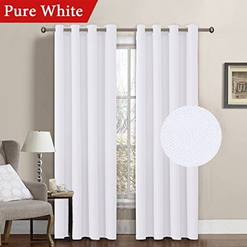 How To Make A Simple Gorgeous Bay Window Curtain Rod From Cheap Dowels White Linen Curtains Cool Curtains Curtains