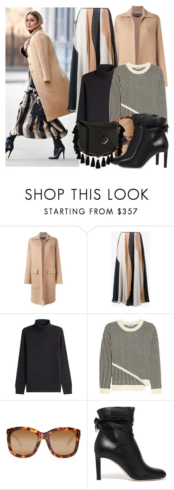 """Olivia Palermo"" by justadream133 ❤ liked on Polyvore featuring Rochas, Roksanda, Vince, Opening Ceremony, Linda Farrow, Jimmy Choo, Rebecca Minkoff and OliviaPalermo"