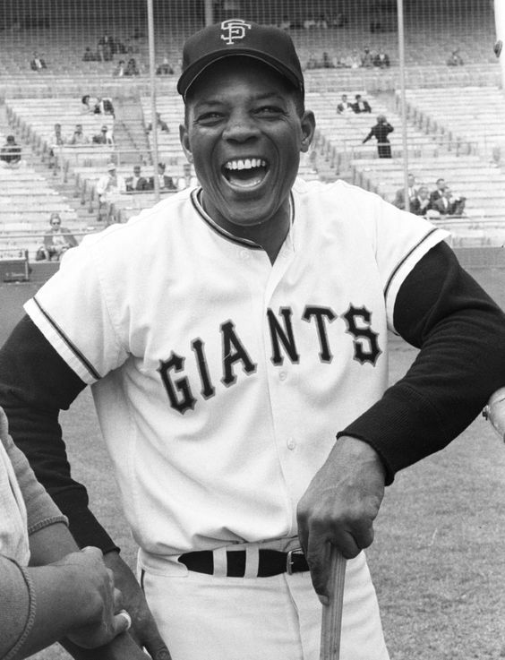one of the greatest ever in baseball, Willie Mays.