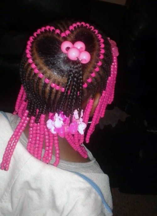 Cute Braids With Beads Hairstyles For Little Girls Little Girl