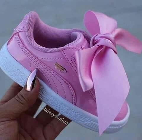 2zapatos puma de niña