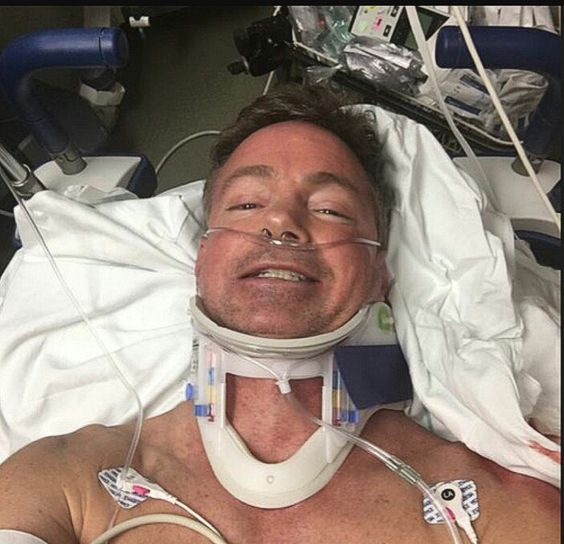RAND PAUL'S ATTACKER RENE BOUCHER A TRUMP-HATING AVOWED SOCIALIST: SUFFERS LUNG CONTUSIONS, 5 BROKEN RIBS