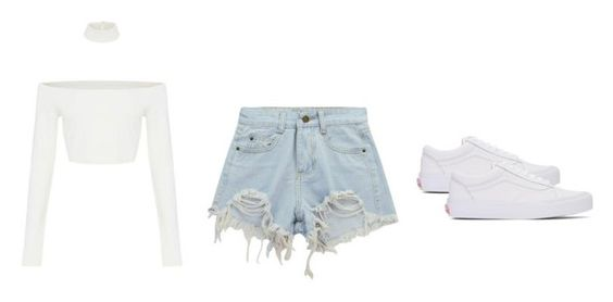 """Untitled #112"" by sophraddd on Polyvore featuring Chicnova Fashion and Vans"