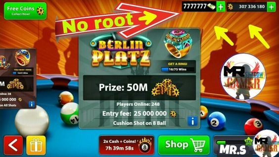 8 Ball Pool Hack For Cash Points And Spins Ios And Android Downloa Pool Hacks Pool Coins 8ball Pool