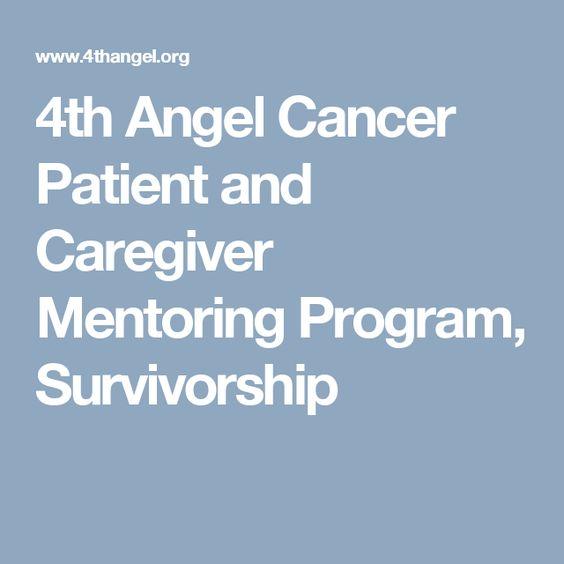 4th Angel Cancer Patient and Caregiver Mentoring Program, Survivorship