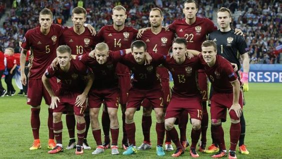 The Russian national team