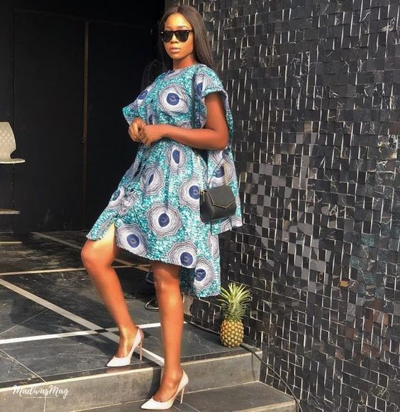 2019 Fascinating and Lovely Ankara Short Gown Styles