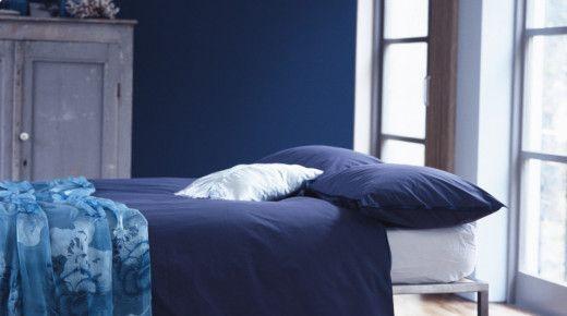 Maling fra nordsjö, farge blueberry blues. blått soverom ...