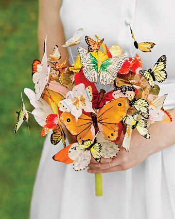 hmmm......  maybe all yellow butterflies??
