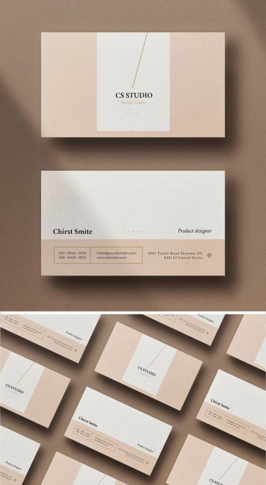 Simple Minimal Business Card Packaging Simple Packaging Printing Business Cards Business Card Graphic Graphic Design Business Card