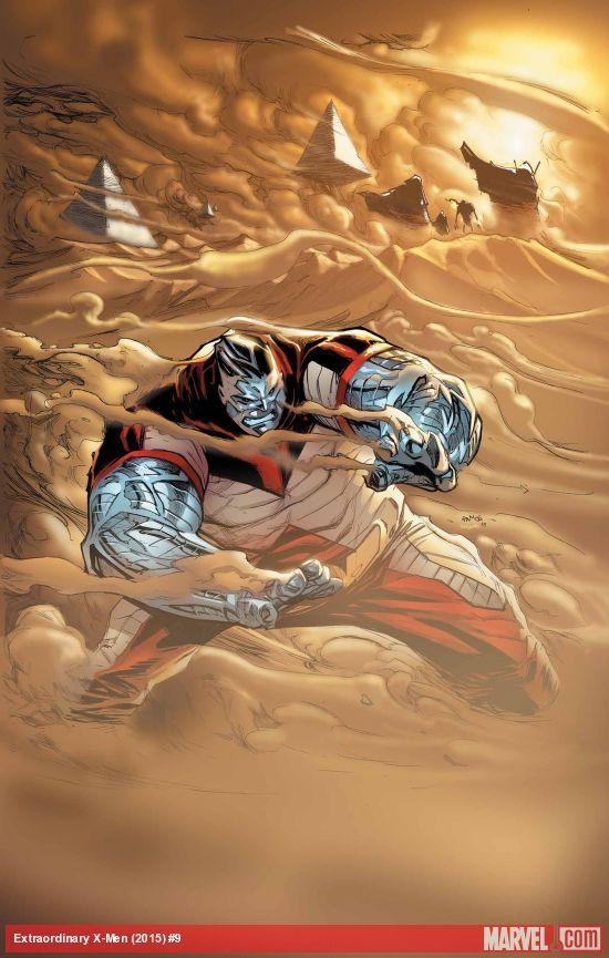 """La Extraordinaria Patrulla-X 9¡Continúa """"Guerras de Apocalipsis""""! Atrapados en el futuro, Coloso y su equipo de jóvenes hombres-X tratan de proteger la clave para la supervivencia de la raza mutante. Pero Apocalipsis les persigue. ¿Llegará a tiempo La Extraordinaria Patrulla-X?"""