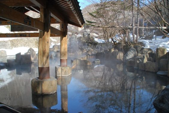 Unwind yourself to the Hot Springs of Japan with the most scenic Beauty