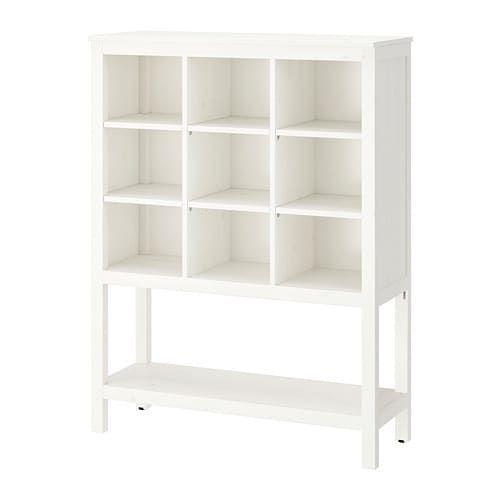 Hemnes Storage Unit White Stained White Stained 39x51 1 8x14 5 8 Ikea Storage Ikea Hemnes Ikea Furniture