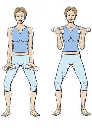 5 exercices pour muscler ses bras - Femme Actuelle