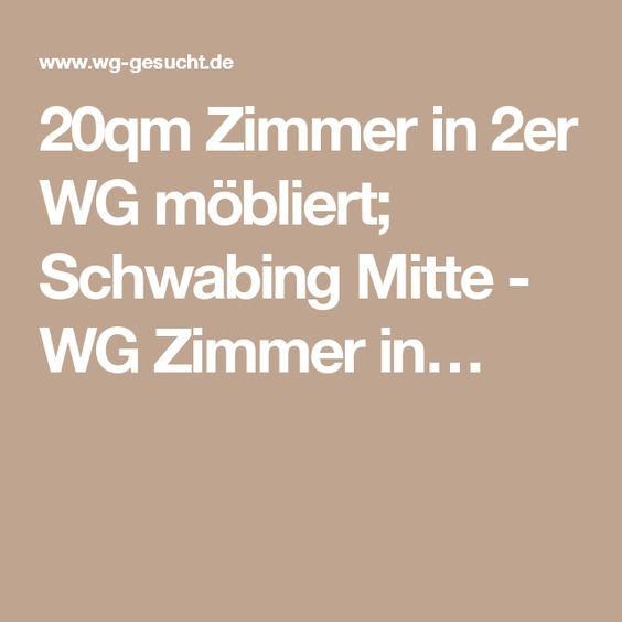 20qm Zimmer in 2er WG möbliert; Schwabing Mitte - WG Zimmer in…