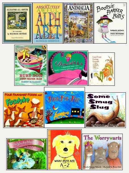 Books written with alliteration