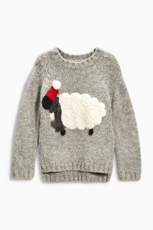 Buy Grey Sheep Jumper (3-16yrs) online today at Next: Israel