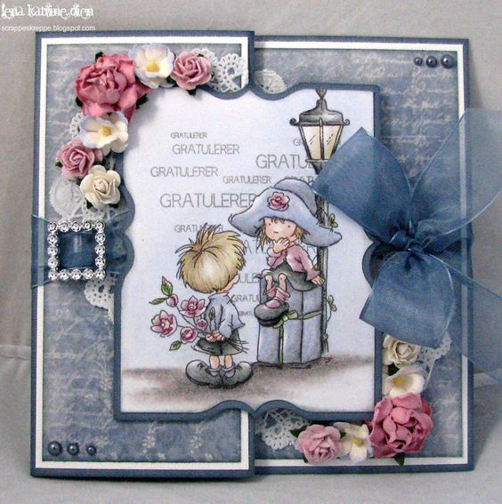 Gorgeous z-fold card