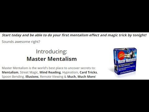 Master Mentalism Course Review How To Perform Effects Magic Product Available Sphere Of Your Art Card Tricks Course Review Magic