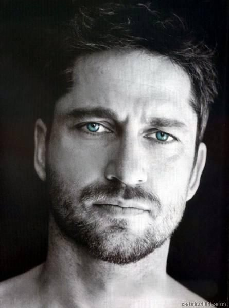 Gerard Butler...need i say  more.