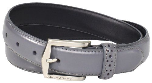 Mens Belts  - Pin it :-) Follow us .. CLICK IMAGE TWICE for our BEST PRICING ... SEE A LARGER SELECTION of Mens Belts s at http://azgiftideas.com/product-category/mens-belts/ - men, mens gift ideas, mens wear, valentines  - Stacy Adams Men's 30mm Pinseal Leather Belt With Pinhold Design