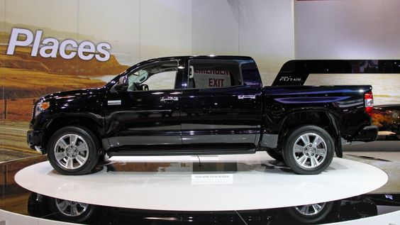 2014 Tundra side view