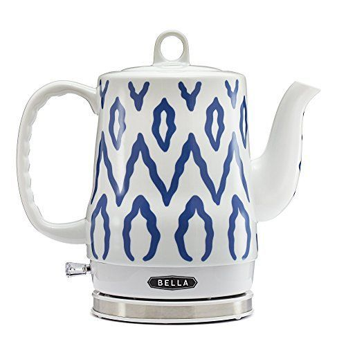 Bella 12l Electric Ceramic Tea Kettle With Detachable Base And Boil Dry Protection Click Image To Re Electric Kettle Tea Kettle