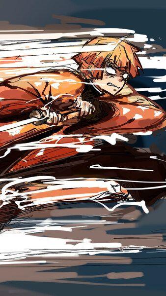 Zenitsu Kimetsu No Yaiba 4k Hd Mobile Smartphone And Pc Desktop Laptop Wallpaper 3840x2160 1920x1080 2160x3840 1080x1920 Otaku Anime Anime Anime Tattoos