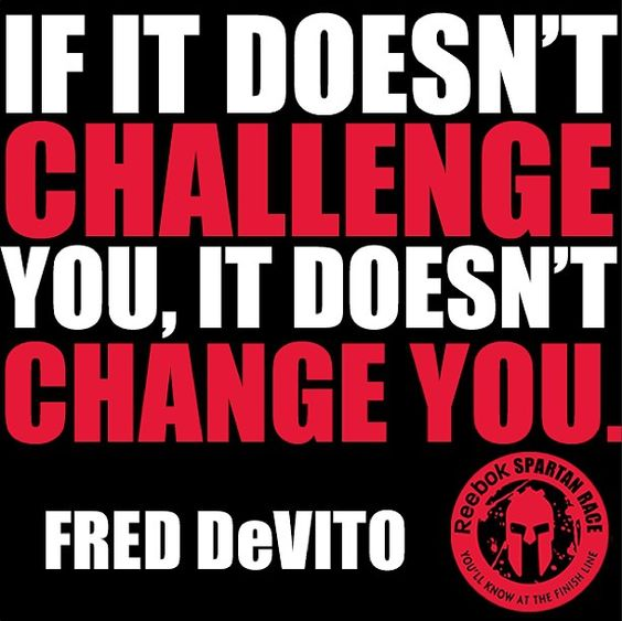 REPIN if you agree, Spartans!  Challenge yourself!  AROO!  #Health #Fitness #Motivation #SpartanRace