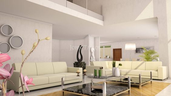 Contemporary Villa - Living Area