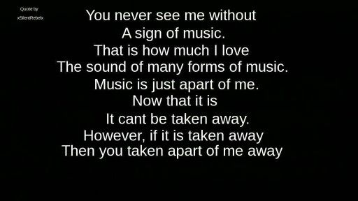 """""""If it is taken away, then you took a part of me away."""""""