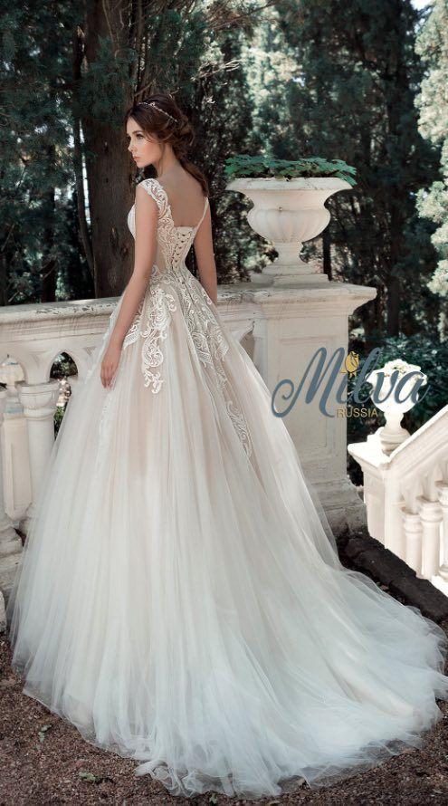 Wedding Dress Inspiration Milva Colored Wedding Gowns Wedding