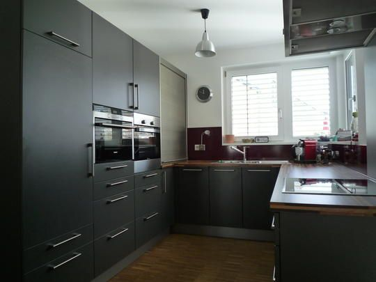 Trend Graue K che von Nobilia grey kitchen by Nobilia Sensible house stuff Pinterest Kitchens and House