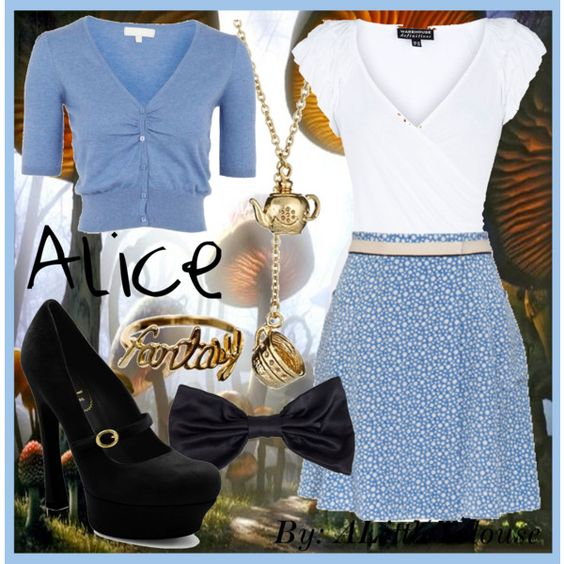 """Alice"" by alittletoulouse on Polyvore"