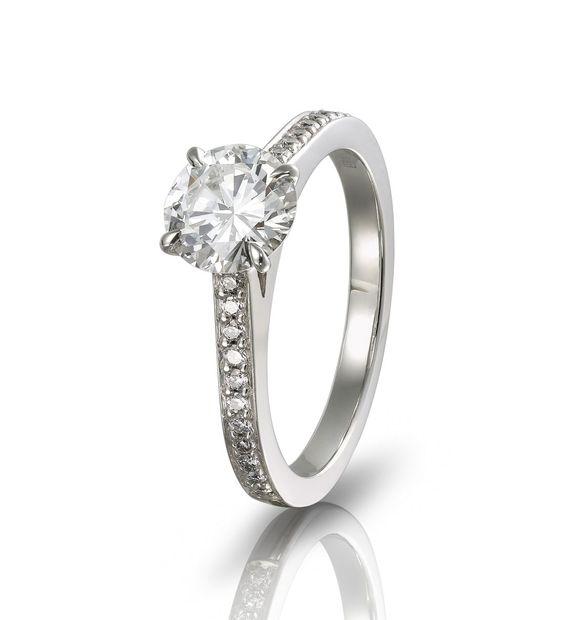 Boodles Grain-Set Solitaire Diamond Ring