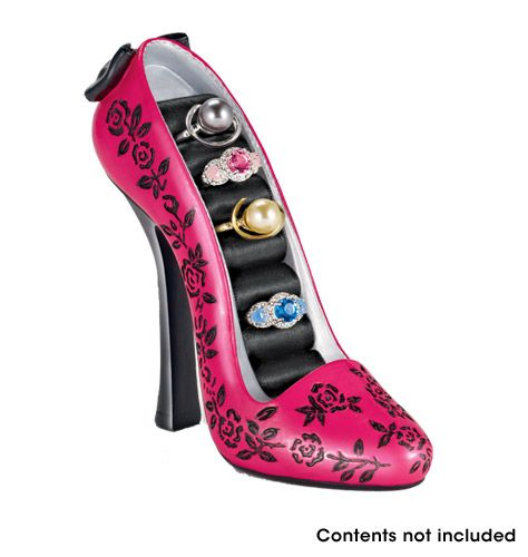 AVON - Product  Dazzling Shoe Ring Holder  Product #355-917  $12.99  Shop @ www.youravon.com/jeanblack