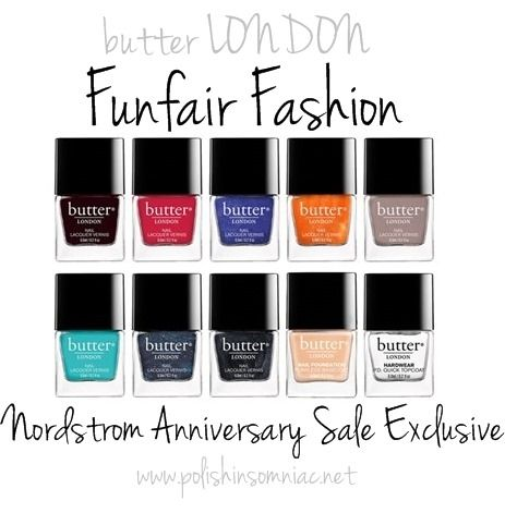 Nordstrom Anniversary Exclusive - butter LONDON Funfair Fashion Nail Lacquer Collection ($100 Value) $49.00