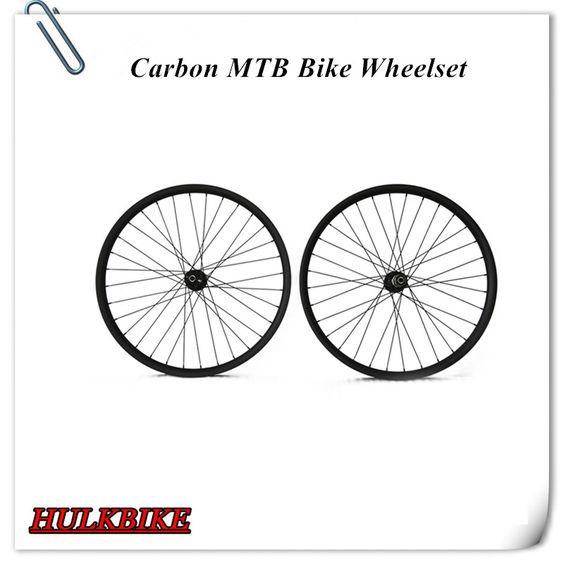 """$489.00 (Buy here: http://appdeal.ru/dbz9 ) New Mountain Full Carbon 29"""" MBT Bike Wheels 29er MTB bike wheelset 29er Carbon Wheelset for just $489.00"""