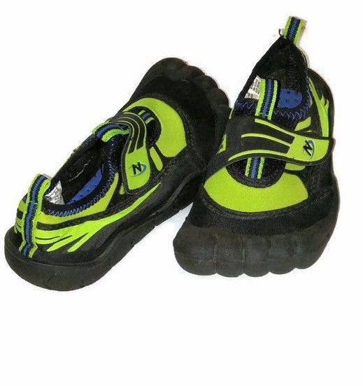 Nerf Boy Toe Water Shoe Lime Green/Black Size 11/12, Style ...