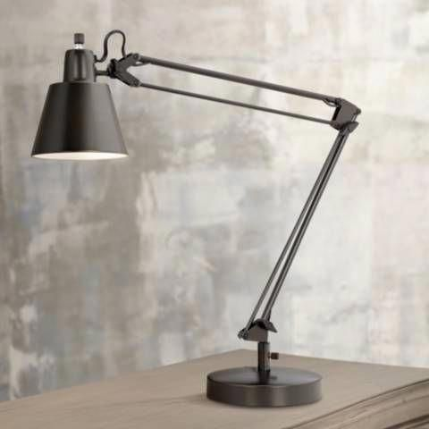 Udbina Bronze Adjustable Architect S Desk Lamp P5453 Lamps Plus In 2020 Desk Lamp Lamp Architects Desk