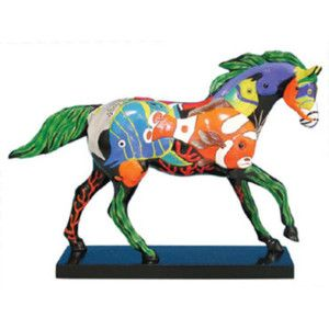 Trail of Painted Ponies - Tropical Reef Pony - 2E/3529