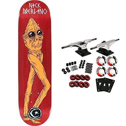 Foundation Skateboard Complete Merlino Man Beast 8 0 Assorted Colors Online Skateboard Shop Dailyskatetube Com Foundation Skateboards Skateboard Cool Skateboards