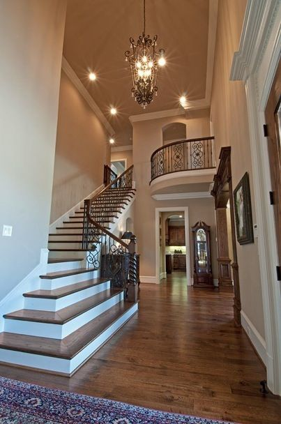 Entrance Foyer Circulation And Balcony In A House : Balconies staircases and stairs on pinterest