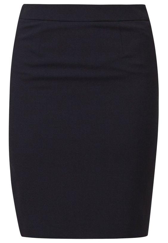 Esprit Collection Blyantnederdel / pencil skirts - dark navy - Zalando.dk